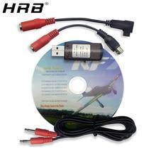 22 в 1 22in1 RC Запчасти USB кабель для авиамодельного симулятора, используемый для подключения Realflight G7/G6 G5.5 G5 Феникс 5,0 Flysky FS-I6 FS-TH9X FS-T6 FS-CT6B