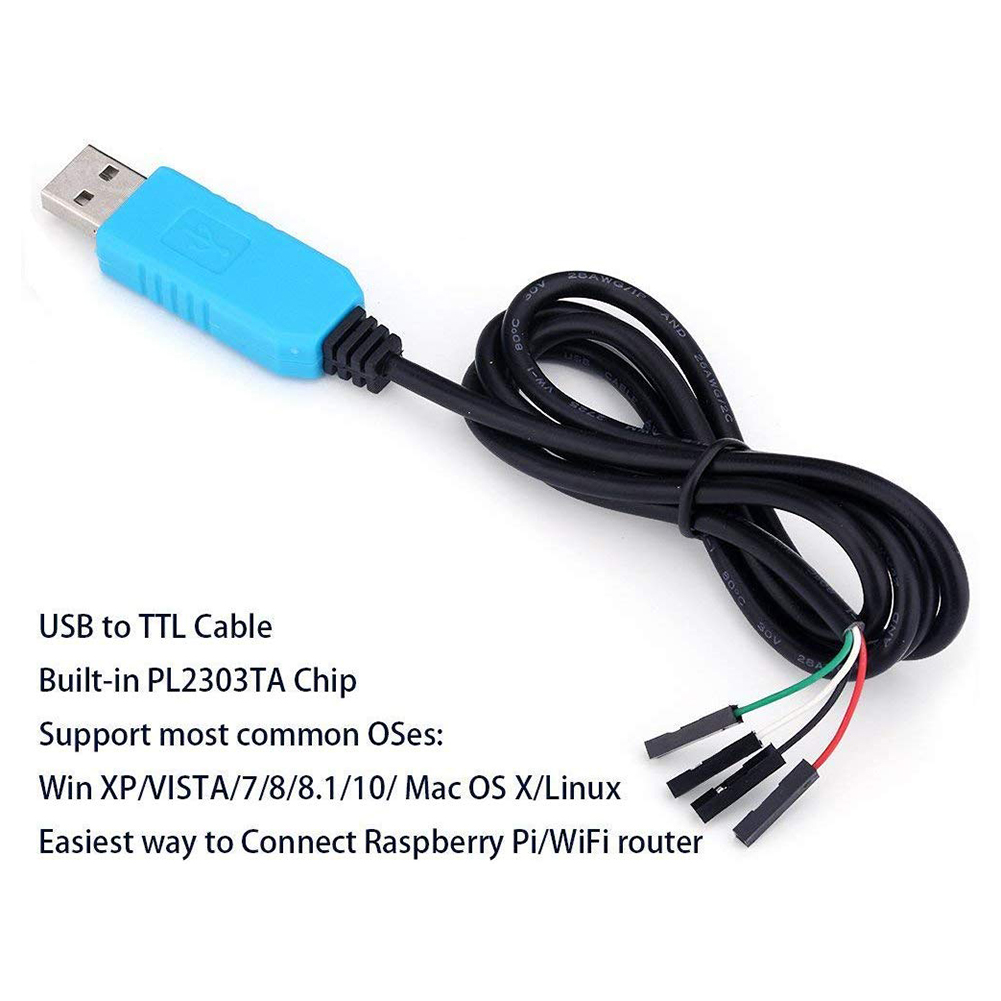 PL2303TA USB To TTL Converter Cable RS232 Module Adapter For Win XP/VISTA/7