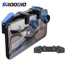 Broodio New Capacitance pulse Controller For Pubg Trigger L1 R1 Smart phone Gamepades