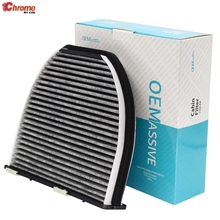 For Mercedes-Benz C-CLASS E-CLASS AMG GT W204 W212 S212 A207 C204 C190 Car Activated Carbon Pollen Cabin Air Conditioning Filter