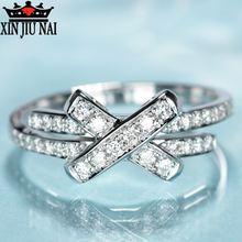 Женское кольцо с галстуком бабочкой из стерлингового серебра