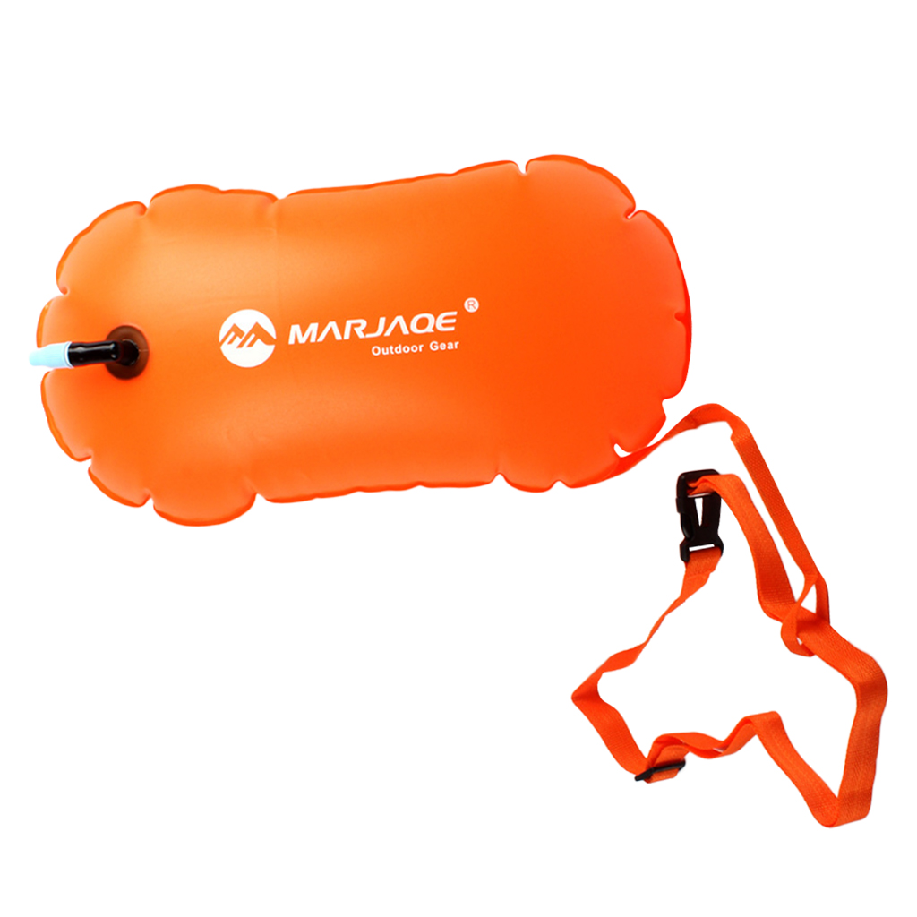 Swim Buoy For Men Women Safe Swimming Training Aid Racing Snorkeling And More