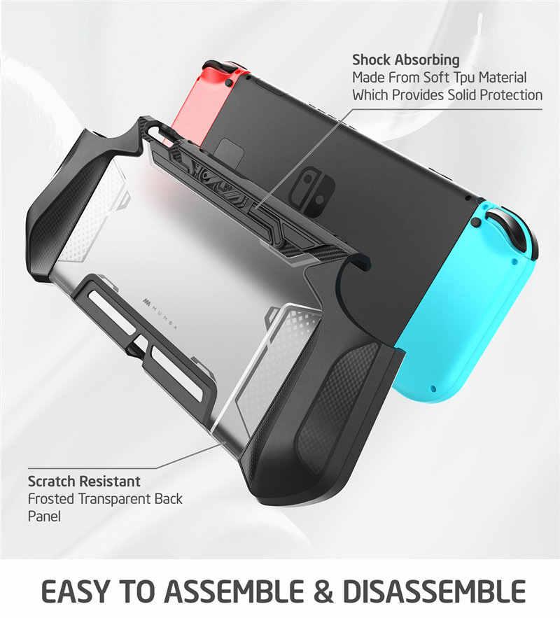 Untuk Nintendo Switch Mumba Seri Pisau TPU Pegangan Tutup Pelindung Dockable Kompatibel dengan Konsol & Joy-Con controller