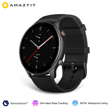 2021 New Amazfit GTR 2e Smartwatch Global Version 1.39'' AMOLED Sleep Quality Monitoring Heart Rate 5 ATM Waterproof For Andriod