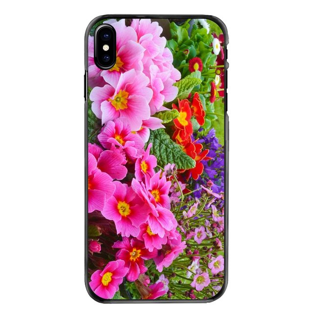 Hard Phone Bag Case Primrose Flowers Background Wallpaper For Lg