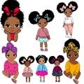 Nette Mädchen Patches Thermo Aufkleber Auf Kleidung Eisen Auf Transfers Für Kleidung Anwendung Für Kinder Frauen T-shirt Applique Waschbar