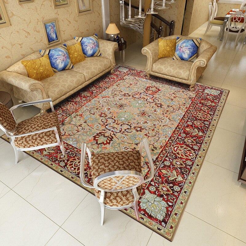 Nordique géométrique tapis salon chambre étude tête de lit rectangulaire tapis moderne décor maison tapis canapé Yoga 3D couverture tapis - 5