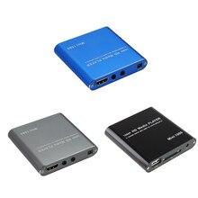 1080P Мини HD медиаплеер AV USB SD MMC мультимедийная реклама MKV автомобильный Внешний видео плеер США штекер