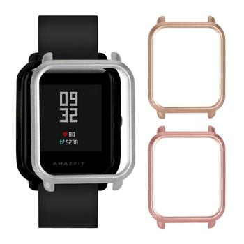 PC Watch Case Protective Cover Protector Frame Shell Replacement For Huami Amazfit Bip Youth Smart Watch Accessories Dropshiping soft slicone protective case cover protector frame shell colorful slim for huami amazfit verge watch accessories