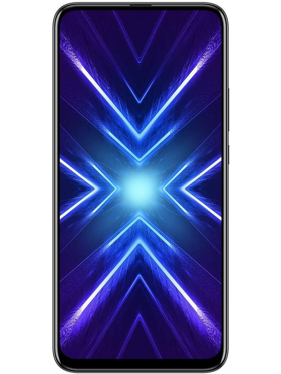 Phone Huawei Honor 9x, Black Color (Black), Dual Sim. 128 GB Internal Memory, 4 GB RAM Screen FullView 6