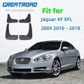 4 шт. Автомобильная Передняя Задняя грязевая заслонка Брызговики для Jaguar XF XFL 2009 2010-2018 крыло брызговик авто аксессуары брызговик