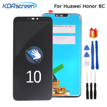 лучшая цена Original LCD For Huawei Honor 8C LCD Display Touch Screen Digitizer Assembly For Honor Paly 8C BKK-AL10 BKK-L21 LCD Display