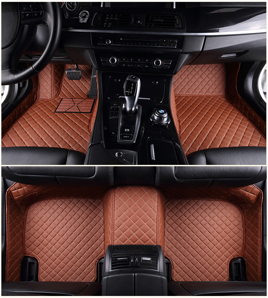 Auto car floor Foot mat For Land Rover freelander 2 discovery 3 evoque car accessories waterproof carpet for left hand drive
