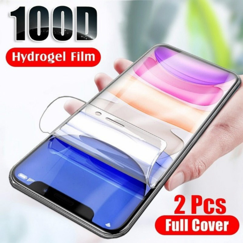 2Pcs 100D Soft Hydrogel Film For IPhone 5S 6 6Plus 7 7Plus 8 8Plus X XR XSmax Screen Protector Film For Iphone I11 I11Pro Max