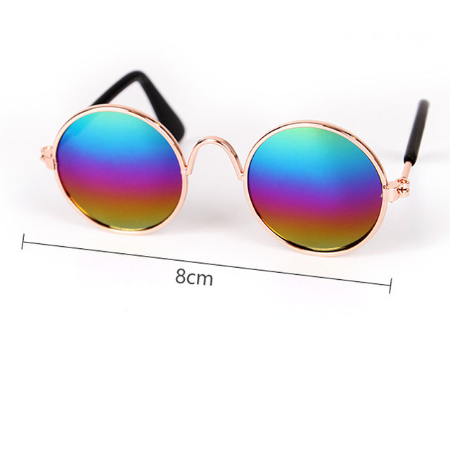 Pet Cat Glasses Dog Glasses Pet Products for Little Dog Cat Eye Wear Dog Sunglasses Photos Props Accessories Pet Supplies Toy 4