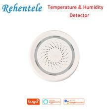 Датчик температуры и влажности 3 в 1 беспроводной wi fi датчик