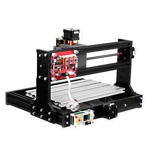 Image 3 - CNC 3018 Pro GRBL kontrolü CNC makinesi ahşap yönlendirici lazer gravür çevrimdışı denetleyici ER11 5mm uzatma çubuğu ağaç İşleme aleti