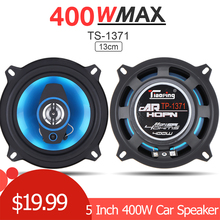 2pcs 5 Inch 400W 2 Way Car Coaxial Auto Audio Music Stereo F
