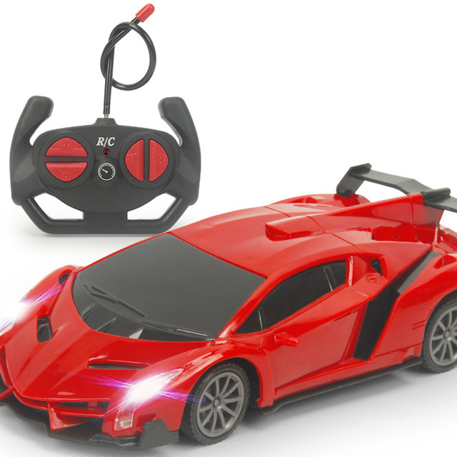 $ US $12.62 RC Car Racing Police 1:24 Model Kids Xmas Birthday Gifts Light Electric Carro Juguetes Chidlren Toys Remote Control Car for Boys