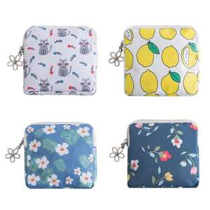 Storage-Bag Pouch Hygiene-Product-Organizer Credit-Card-Case Sanitary-Pads Feminine Jewelry
