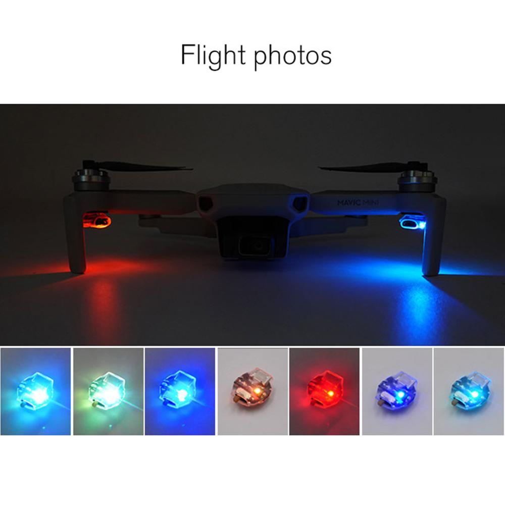 STARTRC Mavic Mini LED Lights Night Flying Kit Signal Lights Seven Color DIY Chooses For DJI Mavic Drone Expansion Accessories