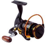 HiMISS 13 achsen 5 2: 1 Geschwindigkeit Ration Spool Spinning Rad Reel Fishing Reel Fishing Ausrüstung