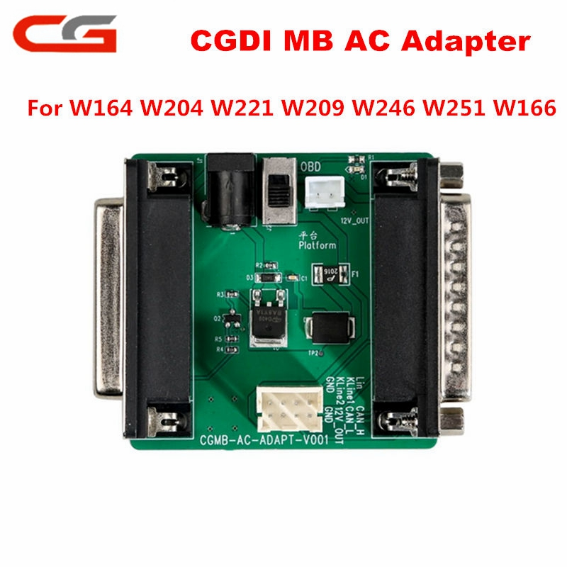 CGDI MB AC Adapter For Data Acquisition Work With Mercedes W164 W204 W221 W209 W246 W251 W166