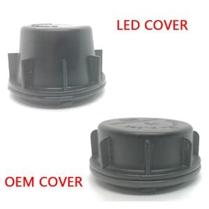 Image 4 - 1 pc עבור יונדאי הסונטה 9 מנורת אביזרי הנורה לקצץ פנל מנורת פגז הנורה גישה כיסוי מגן הנורה LED הנורה הארכת אבק