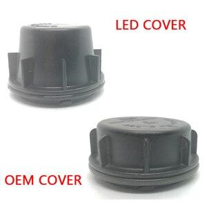 Image 4 - 1 pc für Hyundai Sonata 9 Lampe zubehör Birne trim panel Lampe shell Lampe access abdeckung Birne protector led lampe verlängerung staub