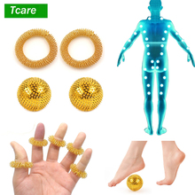 9Pcs/Set Pressure Relief Magnetic Therapy Massager Hand Foot Back Neck Body Acupuncture Ball Needle Massage Muscle Stimulator muscle massage needle stimulator cmns6 1 electronic acupuncture 6 output channel newest jia jian acupuncture needle stimulator