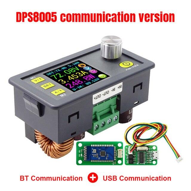 Фото dps8005 жк цифровой программируемый модуль понижающего питания