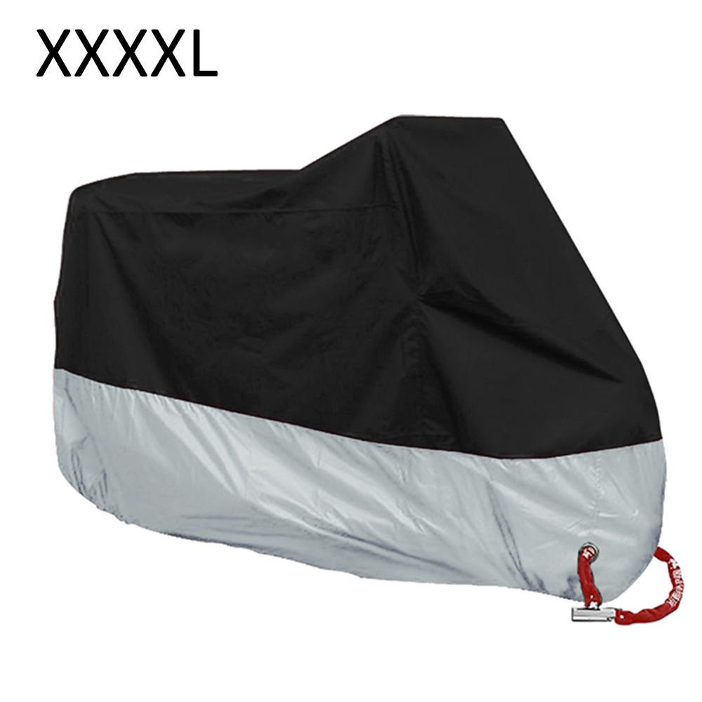 190T Motorcycle Cover XL 2XL 3XL 4XL Universal Indoor Outdoor Uv Protector For Scooter Motorbike Waterproof Rain Dustproof Cover
