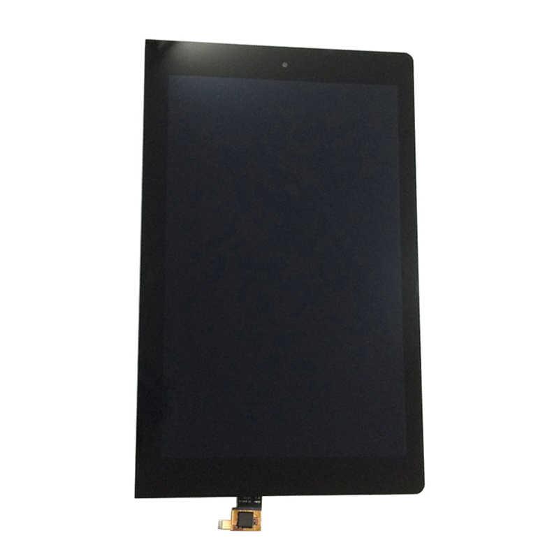 Siyah Lenovo Yoga 10 için B8000 B8000-H 60047 LCD ekran monitör paneli + dokunmatik ekran Digitizer sensörü cam meclisi