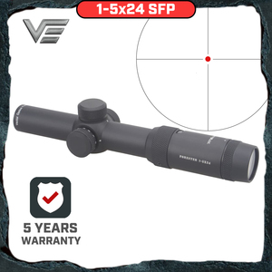 Image 1 - וקטור אופטיקה פורסטר 1 5X24 IR רובה היקף סופר בהיר ברור ללא קצה תמונה גבוהה Quingity 30mm Rilfescope עבור ציד לירות