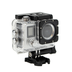 Outdoor Waterproof Camera Sports DV WIFI Camcorders Remote Control LCD Double Screen Action