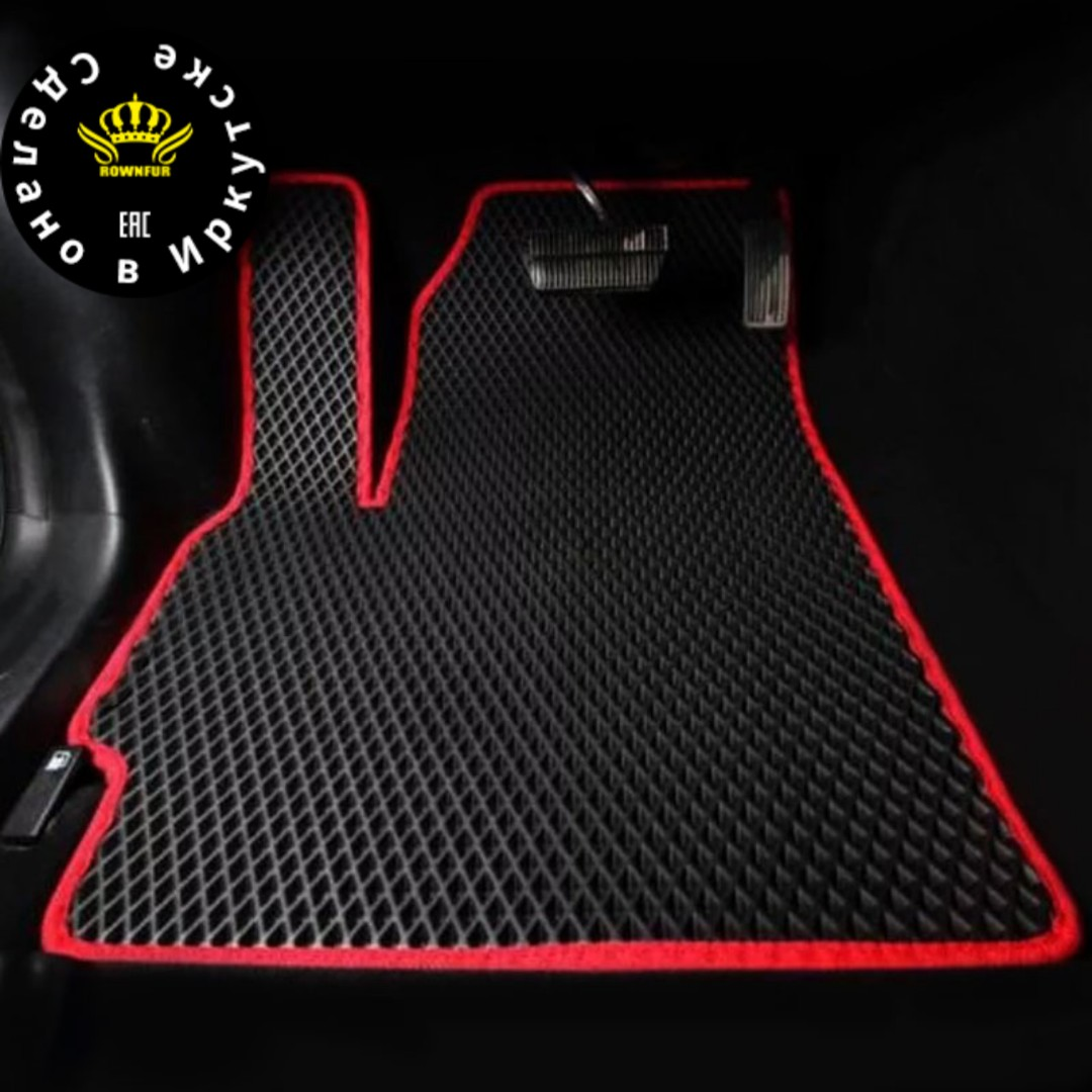 EAC EVA Car Floor Mat for BA3 LADA 2115 fit 1997-2012 Front and Rear Floor Mat fashion Interior Car Carpet Mat IRKUTSK shipping title=