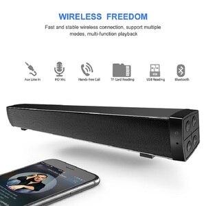 Image 4 - Bluetooth רמקול נייד אלחוטי רמקול קול מערכת 10W סטריאו מוסיקה להקיף soundbar חיצוני רמקול