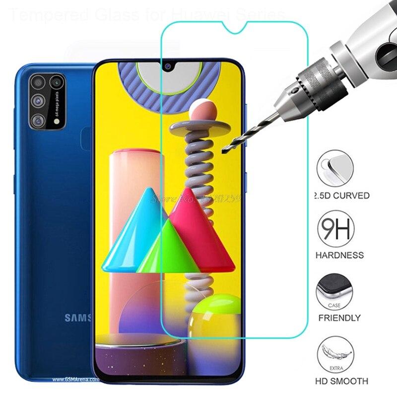 Skärmskydd för Samsung Galaxy M31 härdat glas Samsung Galaxy M31 - Reservdelar och tillbehör för mobiltelefoner