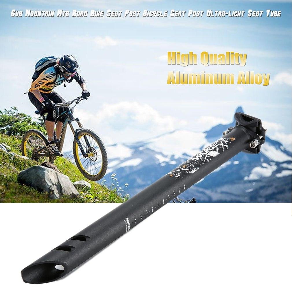 Gub Gs горный Mtb дорожный велосипед Подседельный штырь для велосипеда ультра-светильник подседельная трубка 27,2 мм/31,6 мм Диаметр алюминиевый сплав