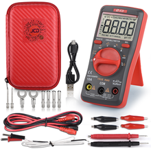 QHTITEC UM16 Digital Multimeter Auto Ranging TRMS 6000 Counts Volt Meter Measures Temperature Tester Tools with Backlight