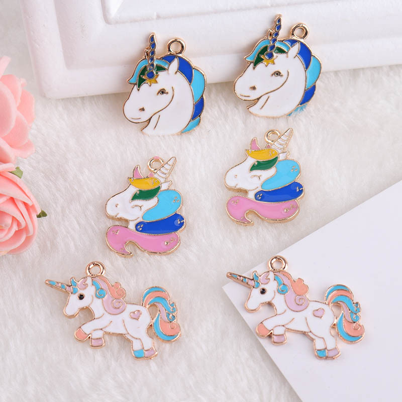5 Pcs Cloud Shaped Pendant Alloy Making Necklace Jewelry Craft Charm Accessories
