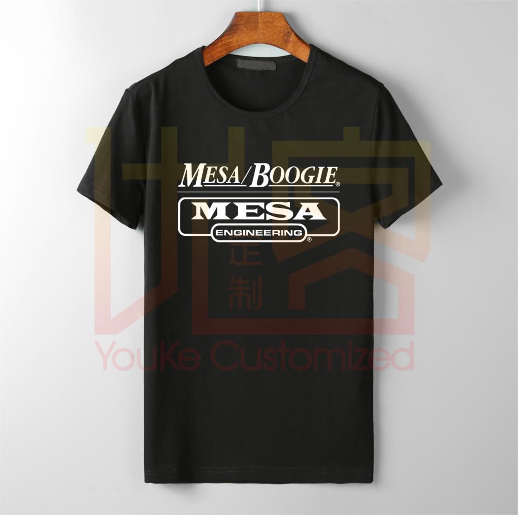Mesa Boogie Guitar Amplification Logo T Shirt Short Sleeve S M L XL 2XL 3XL