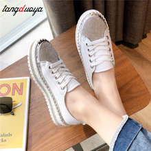 Crystal sneakers Women Casual Shoes Comf