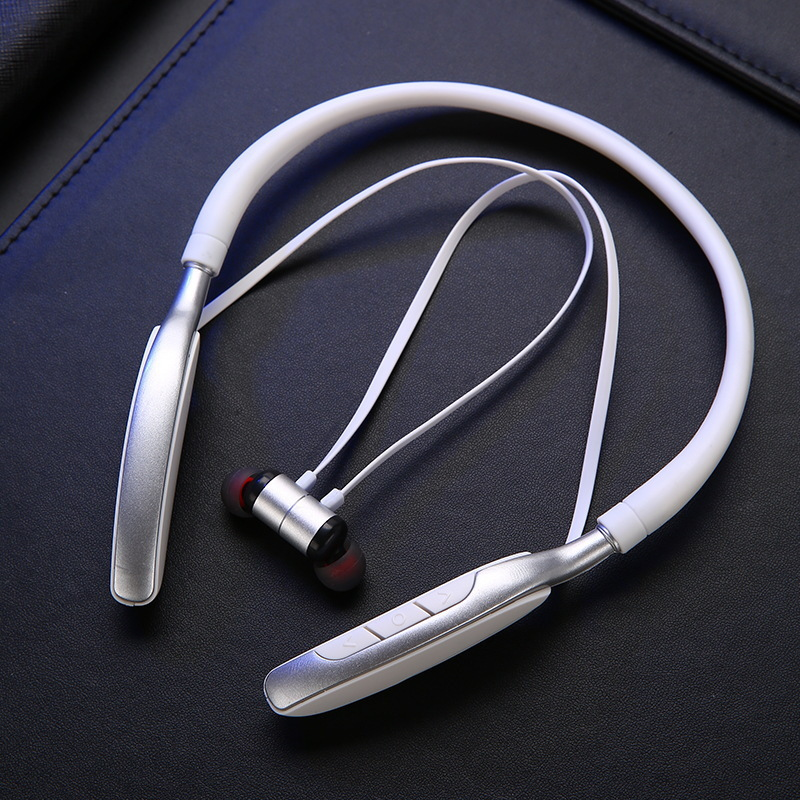 Bluetooth Sports Earphone Sport Headset Support MP3 TF Card Playback BT Call Stereo Earphone With Big Build In Battery in Bluetooth Earphones Headphones from Consumer Electronics