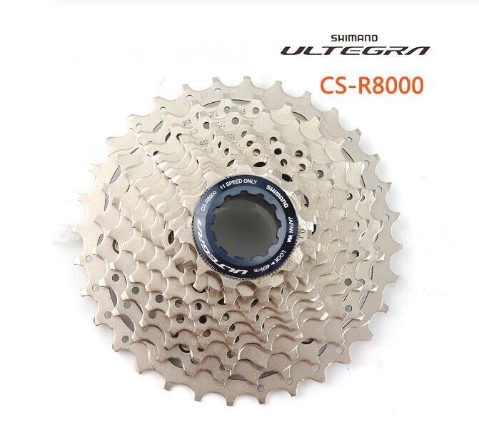 Ultegra CS R8000 HG800-11 Road Bicycle Freewheel 11speed 11-25T 11-28T 11-30T 11-32T 11-34T R8000 Cassette Sprocket