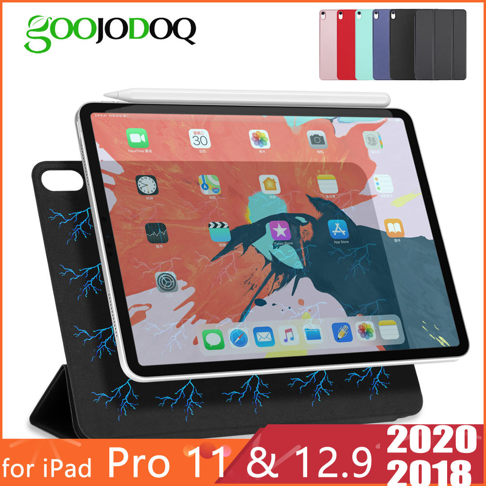 For IPad Pro 11 Case 2020 For IPad Pro 12.9 2020 2018 Funda Magnetic Ultra Slim Smart Cover For IPad Pro 2020 Case Capa Coque
