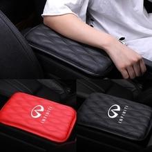 Car Interior Accessories For Infiniti Q45 FX35 Q50 G35 G37 G20 QX56 QX50 QX60 QX80 Armrest Box Mat Waterproof Pad Protector Mat
