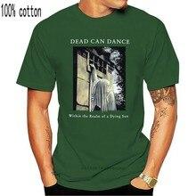 Muerto puede bailar en el Reino de la muerte de una de Sol Negro camiseta modelos básicos Tee Shirt