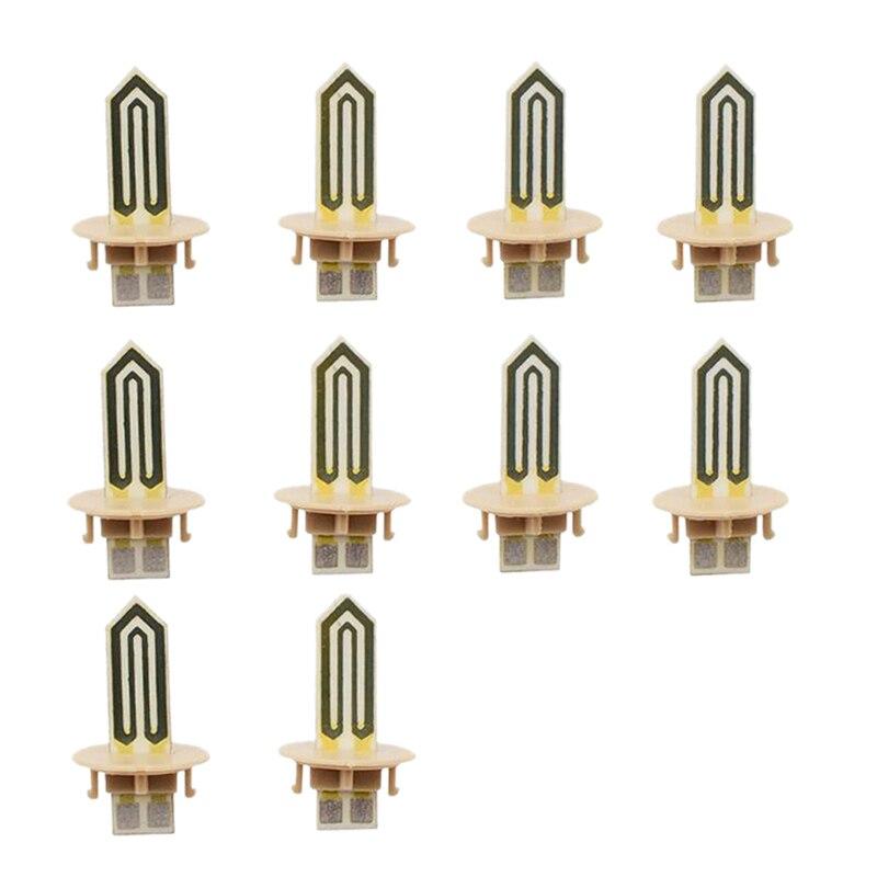 10Pcs Replacement Ceramic Heater Blade For Iqos 2.4 Plus Heating Stick Blade For Iqos E Cigarette Repair Accessories