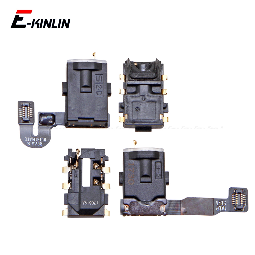 Ear Earphone Headphone Jack Audio Port Connector Flex Repair Parts For HuaWei Mate 20 10 9 Lite Pro P Smart Plus 2019 2018
